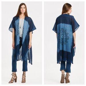 LOVE STITCH Tassel Kimono / Swimsuit Coverup Boho